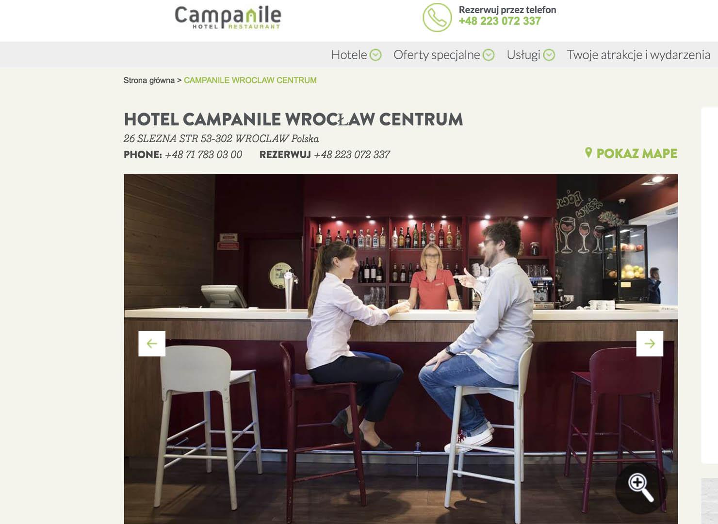 hotel campanille
