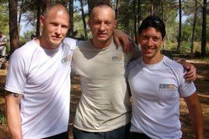 Członkowie Global Teamu - Tomy Bloom, Ilya Dunsky & Tadeusz Dubicki