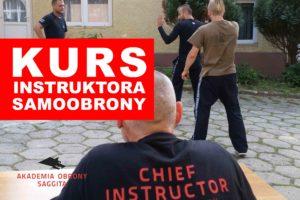 Kurs instruktora samoobrony 2019 - Akademia Obrony Saggita Tadeusz Dubicki 2
