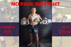 NO PAIN NO FIGHT - Akademia Obrony Saggita