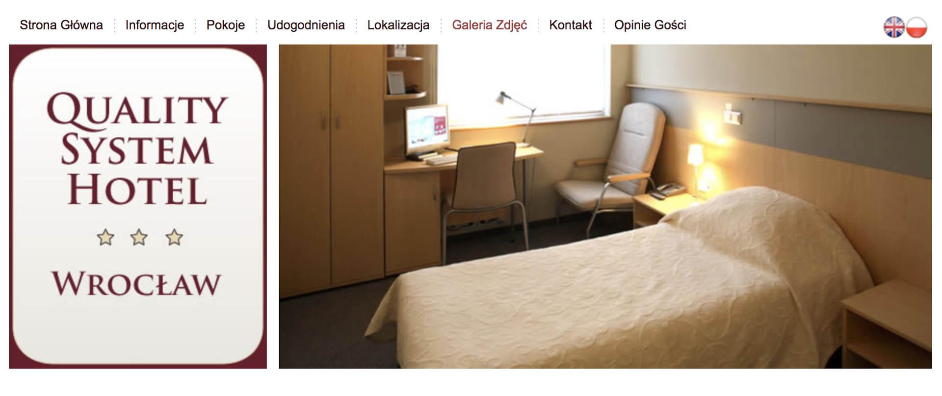 hotel system quality