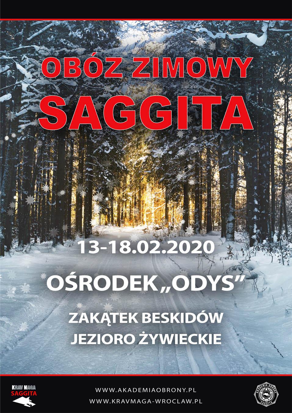 Akademia Obrony Saggita Obóz Zimowy 2020 Tadeusz Dubicki Krav Maga Wrocław Wałbrzych Świdnica